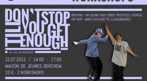 Workshop with Bboy Trusteez and Marc Folschette